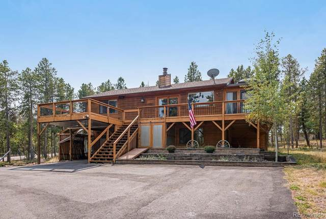 31575 Griffin Drive, Conifer, CO 80433 (#5699627) :: The DeGrood Team
