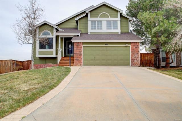 869 Redwood Court, Highlands Ranch, CO 80126 (#5702235) :: The Peak Properties Group