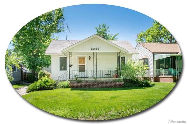 2243 S Lafayette Street, Denver, CO 80210 (MLS #5705586) :: Kittle Real Estate