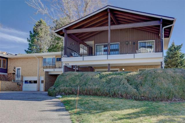 2678 S Benton Street, Lakewood, CO 80227 (#5705707) :: RE/MAX Professionals