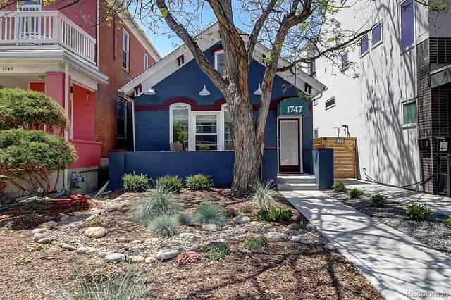 1747 Clarkson Street, Denver, CO 80218 (#5711399) :: James Crocker Team