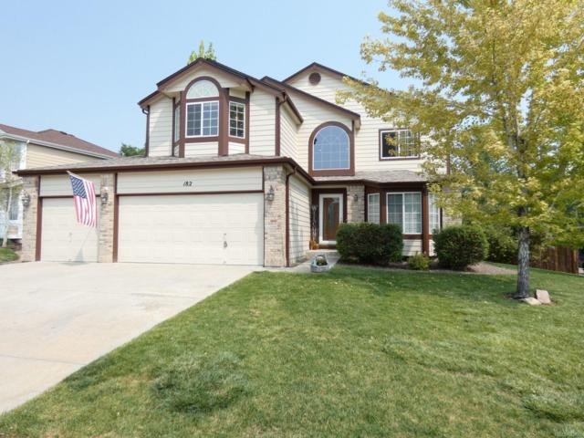 182 Heritage Avenue, Castle Rock, CO 80104 (MLS #5716014) :: 8z Real Estate