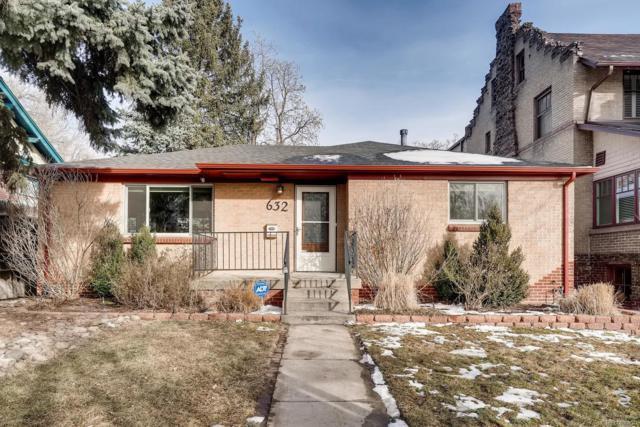 632 N Ogden Street, Denver, CO 80218 (#5716474) :: James Crocker Team
