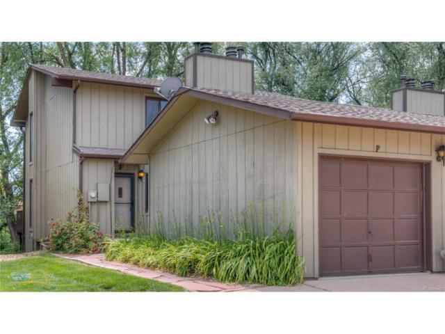 1603 Cottonwood Drive F, Louisville, CO 80027 (MLS #5716507) :: 8z Real Estate