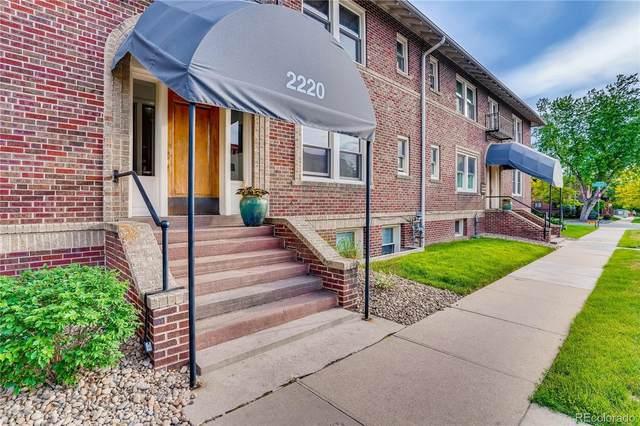 2220 E Mississippi Avenue #11, Denver, CO 80210 (#5720370) :: RazrGroup