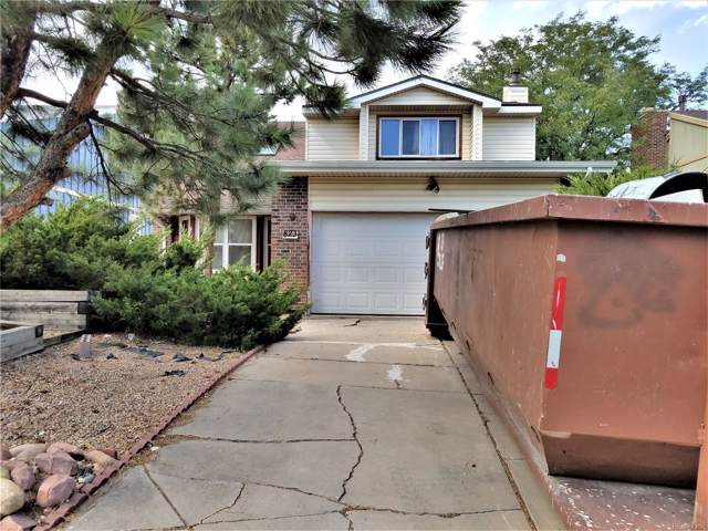 823 S Rifle Way, Aurora, CO 80017 (#5722213) :: The Griffith Home Team