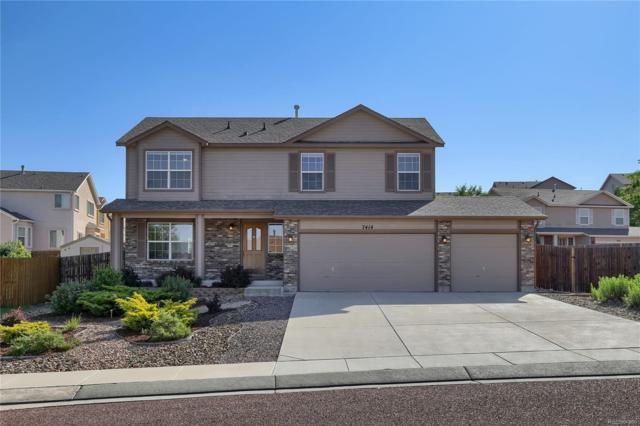 7414 Campstool Drive, Colorado Springs, CO 80922 (#5722223) :: The Griffith Home Team