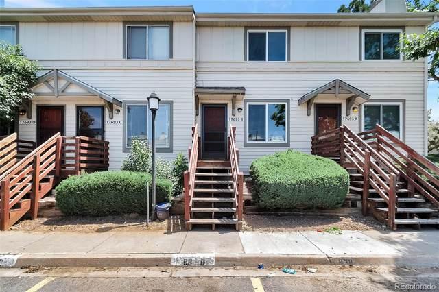 17693 E Loyola Drive B, Aurora, CO 80013 (#5723585) :: HomeSmart Realty Group