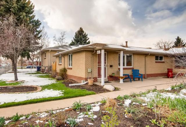 4951 W 36th Avenue, Denver, CO 80212 (#5724772) :: 5281 Exclusive Homes Realty