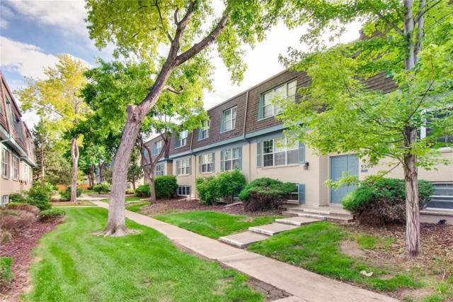 9310 E Girard Avenue #10, Denver, CO 80231 (#5726197) :: The Healey Group
