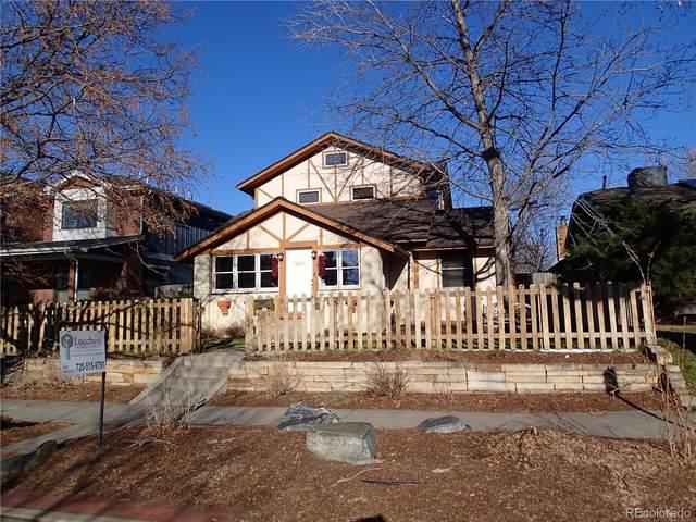 1842 S Marion Street, Denver, CO 80210 (#5728494) :: The Gilbert Group