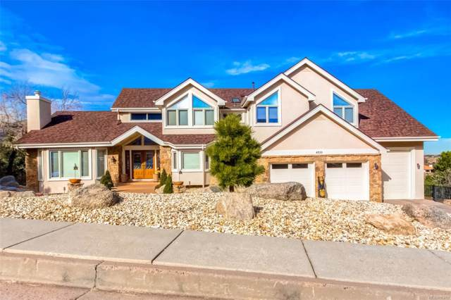 4255 Regency Drive, Colorado Springs, CO 80906 (#5728541) :: Colorado Home Finder Realty