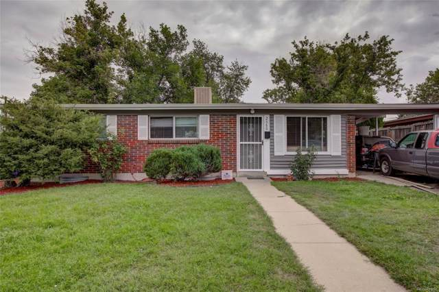2680 S Perry Street, Denver, CO 80219 (MLS #5730159) :: 8z Real Estate