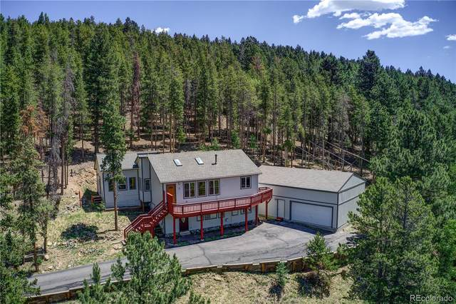 8892 Martin Lane, Conifer, CO 80433 (MLS #5730684) :: Neuhaus Real Estate, Inc.