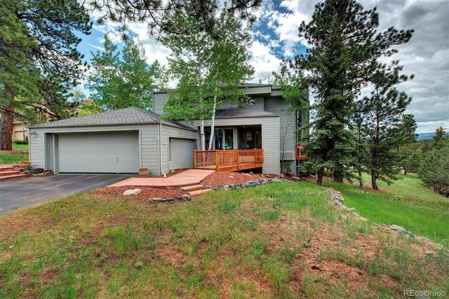 1592 Prouty Drive, Evergreen, CO 80439 (#5734116) :: Bring Home Denver with Keller Williams Downtown Realty LLC