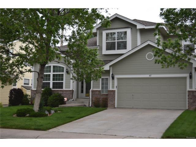 47 Sylvestor Place, Highlands Ranch, CO 80129 (MLS #5735291) :: 8z Real Estate