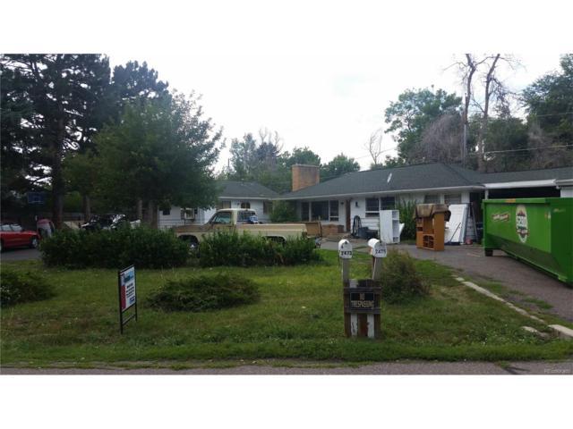 2475 Field Street, Lakewood, CO 80215 (MLS #5738392) :: 8z Real Estate