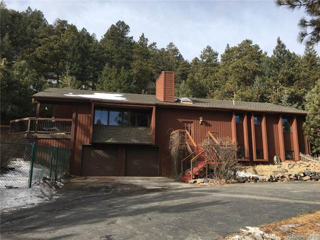 7182 Silverhorn Drive, Evergreen, CO 80439 (#5739345) :: The HomeSmiths Team - Keller Williams