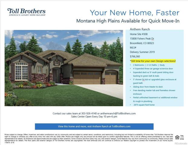 15808 Fishers Peak Drive, Broomfield, CO 80023 (#5741651) :: Sellstate Realty Pros
