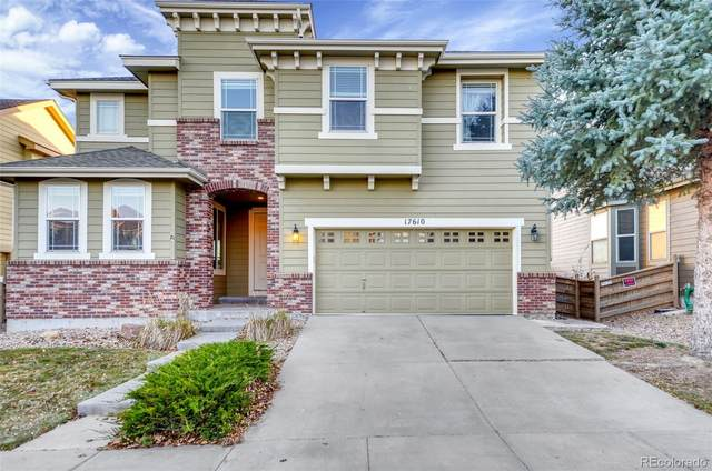17610 E 104th Place, Commerce City, CO 80022 (#5742789) :: The DeGrood Team