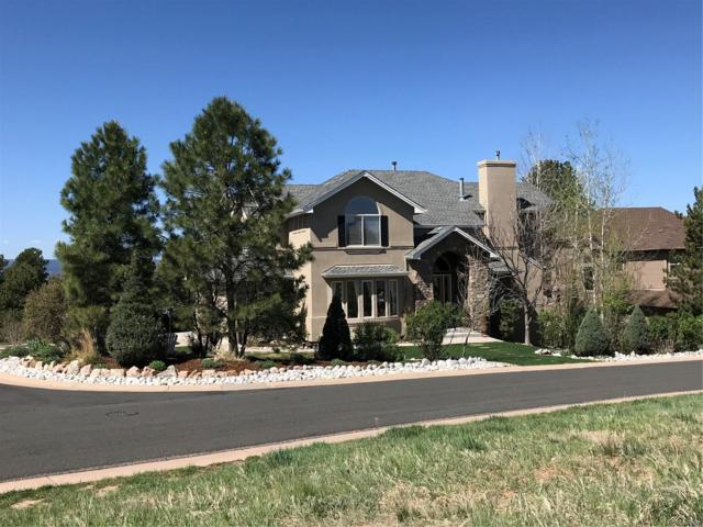 923 Greenway Lane, Castle Pines, CO 80108 (#5746235) :: The Galo Garrido Group