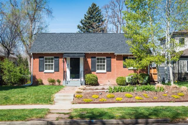 1009 Newport Street, Denver, CO 80220 (#5750369) :: House Hunters Colorado
