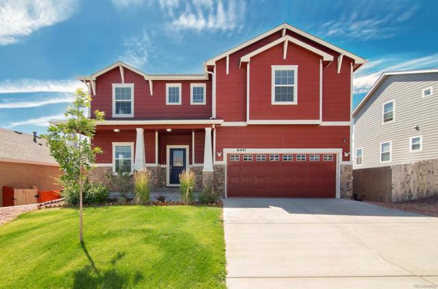 6441 Vickie Lane, Colorado Springs, CO 80923 (#5752138) :: HomePopper