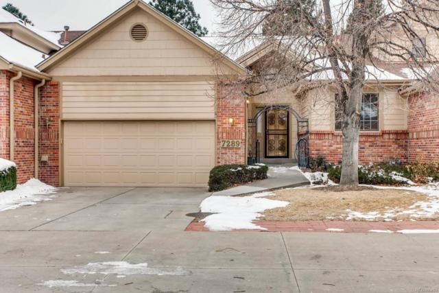7289 S Sundown Circle, Littleton, CO 80120 (MLS #5752716) :: 8z Real Estate