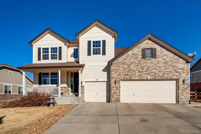 231 Crosshaven Place, Castle Rock, CO 80104 (#5755762) :: The Griffith Home Team