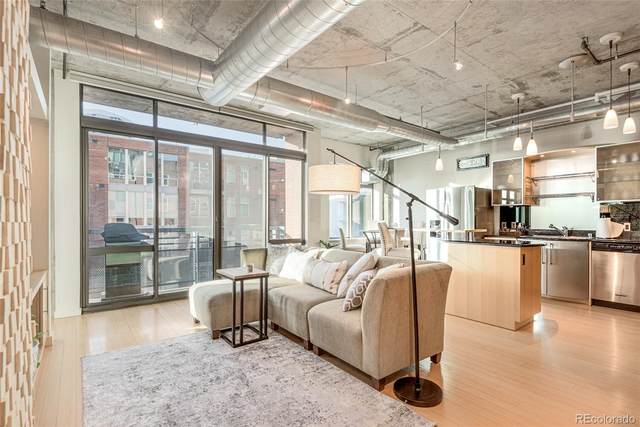 1401 Wewatta Street #318, Denver, CO 80202 (#5757942) :: Mile High Luxury Real Estate