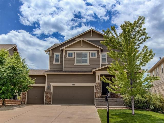4982 Summerville Circle, Castle Rock, CO 80109 (#5760883) :: The Heyl Group at Keller Williams