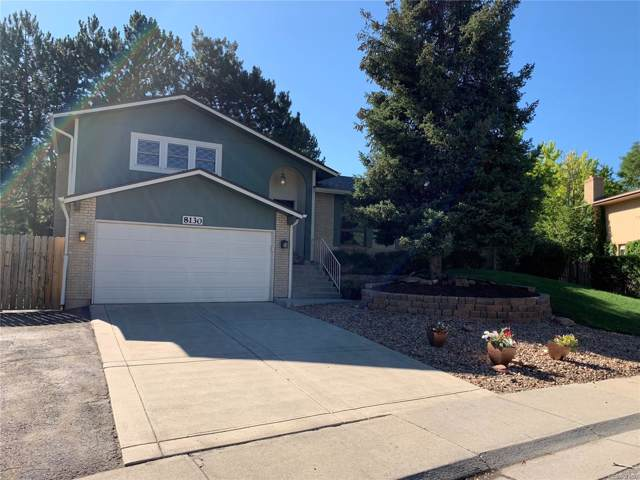 8130 W 81st Place, Arvada, CO 80005 (#5761685) :: The Griffith Home Team