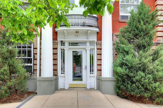 325 E 18th Avenue #301, Denver, CO 80203 (#5761880) :: Stephanie Fryncko | Keller Williams Integrity