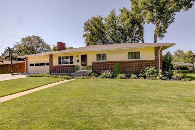 8036 E Jefferson Place, Denver, CO 80237 (#5763471) :: Bring Home Denver