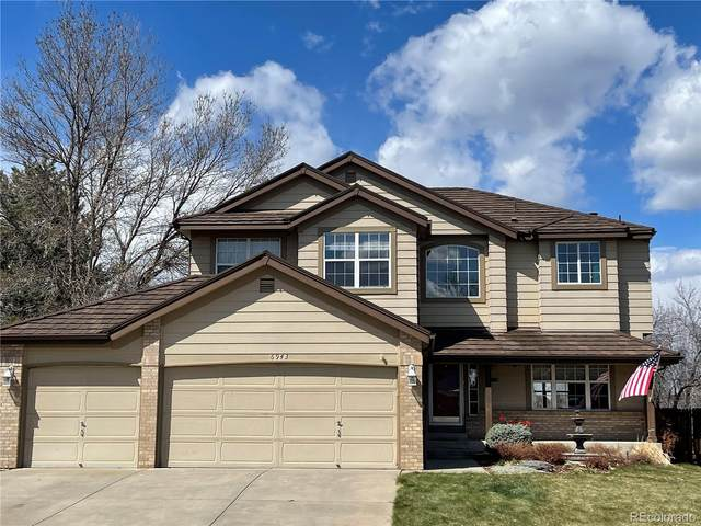 6943 W Nichols Place, Littleton, CO 80128 (#5764314) :: Hudson Stonegate Team