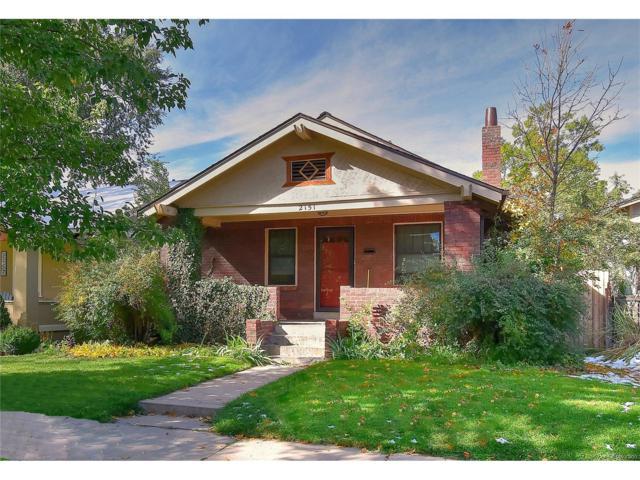 2151 S Humboldt Street, Denver, CO 80210 (MLS #5764647) :: 8z Real Estate