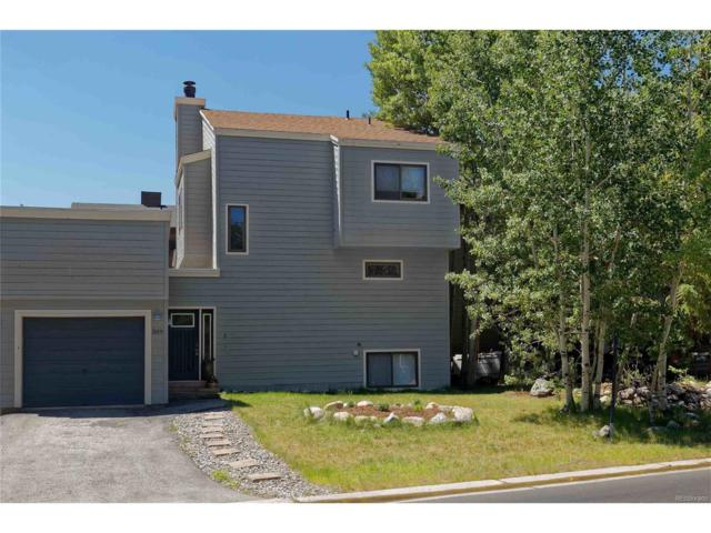 309 Creekside Drive, Frisco, CO 80443 (MLS #5765285) :: 8z Real Estate