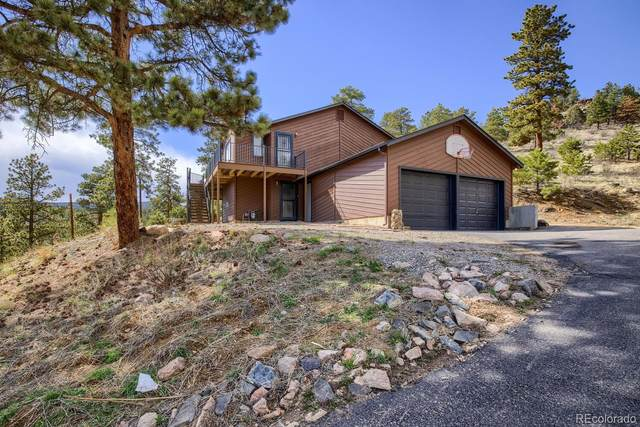 13950 Pine Valley Road, Pine, CO 80470 (#5766745) :: The Colorado Foothills Team | Berkshire Hathaway Elevated Living Real Estate