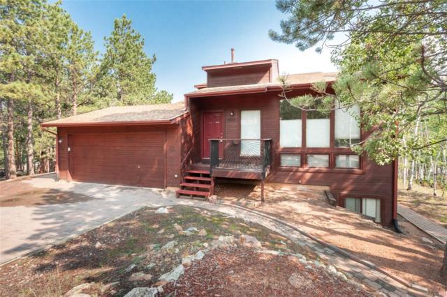 1250 Northwoods Drive, Woodland Park, CO 80863 (#5768764) :: The Peak Properties Group