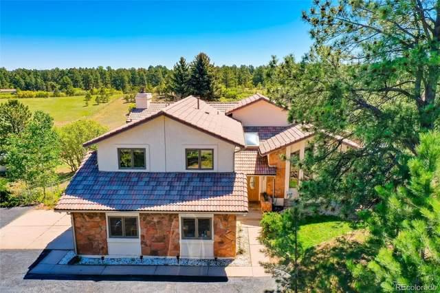 2150 Cedar Court, Franktown, CO 80116 (MLS #5770485) :: 8z Real Estate