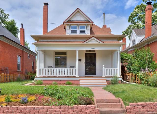 2447 N High Street, Denver, CO 80205 (#5772421) :: My Home Team