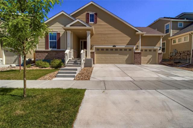 15181 Yellowthroat Street, Parker, CO 80134 (#5772994) :: The DeGrood Team