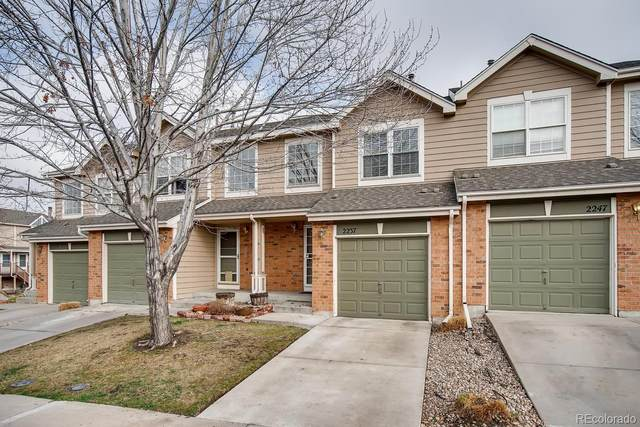 2237 E 103rd Court, Thornton, CO 80229 (#5773837) :: The Healey Group