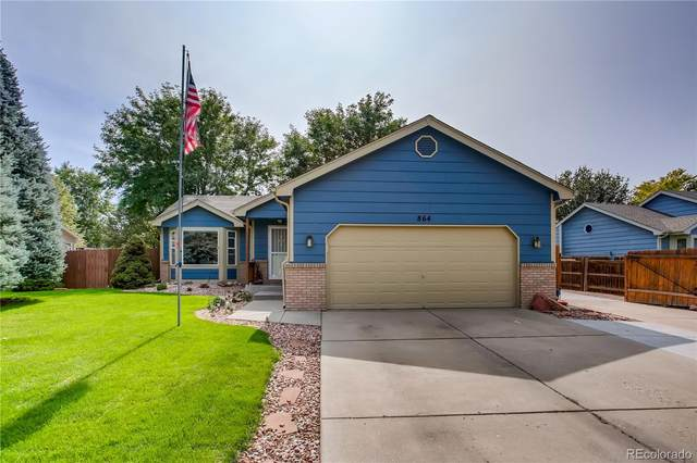 864 N Greeley Avenue, Johnstown, CO 80534 (#5775860) :: The DeGrood Team