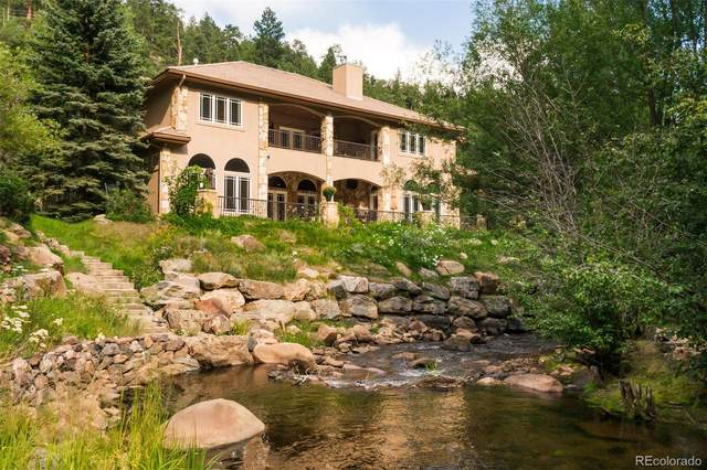 4319 Wild Flower Court, Evergreen, CO 80439 (#5776878) :: The Dixon Group