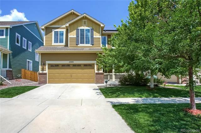 15999 W 62nd Drive, Arvada, CO 80403 (#5777396) :: The Gilbert Group