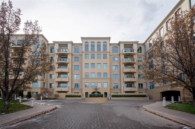 2500 E Cherry Creek South Drive #313, Denver, CO 80209 (MLS #5778766) :: Colorado Real Estate : The Space Agency