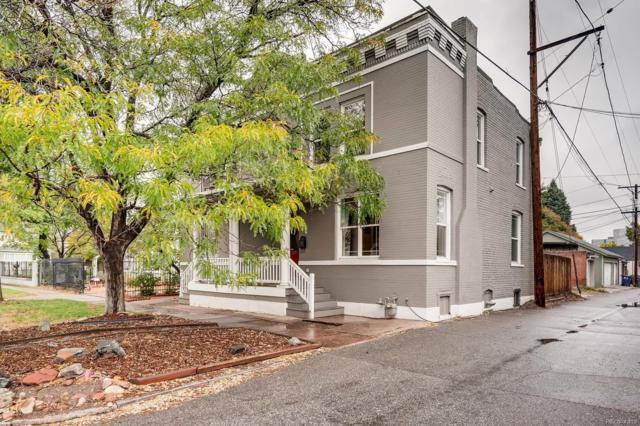 117 E 3rd Avenue, Denver, CO 80203 (#5780612) :: Wisdom Real Estate