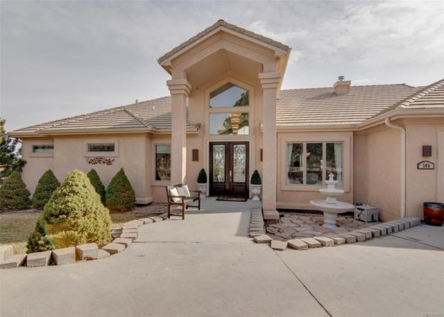 165 Mission Hill Way, Colorado Springs, CO 80921 (#5783687) :: Harling Real Estate