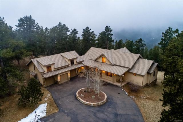 2889 Highlands View Road, Evergreen, CO 80439 (#5786780) :: The Peak Properties Group
